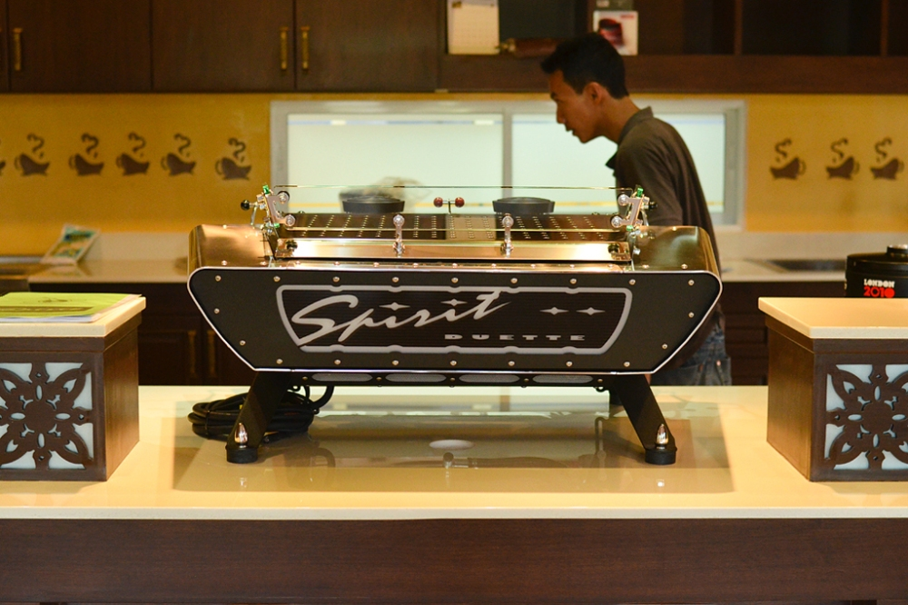 Spirit Duette espresso machine (2/6)